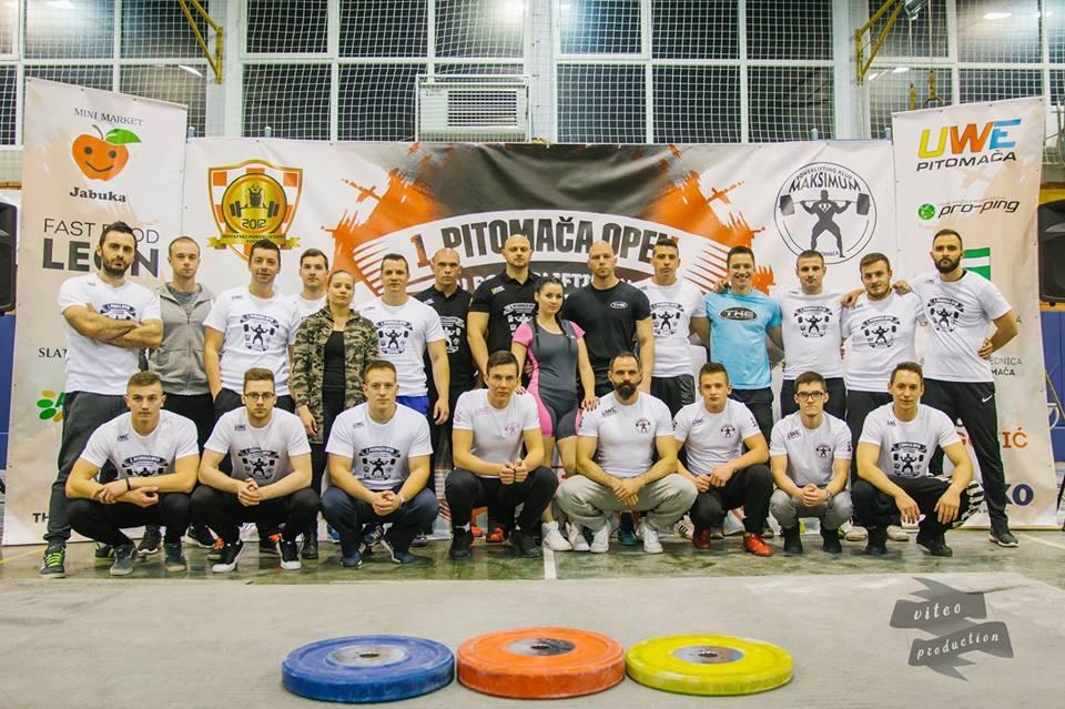 Sportska Hrvatska 2. Pitomaca Open u Powerliftingu i Bench pressu – Popis natjecatelja